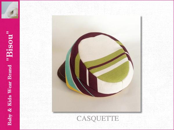 画像3: 【Bisou(ビズゥ)】CASQUETTE/ベビィ&キッズ用帽子
