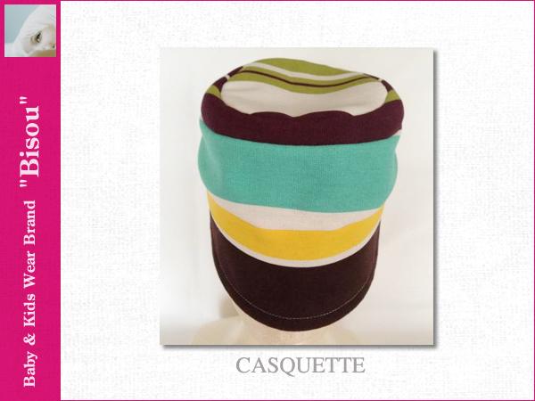 画像2: 【Bisou(ビズゥ)】CASQUETTE/ベビィ&キッズ用帽子