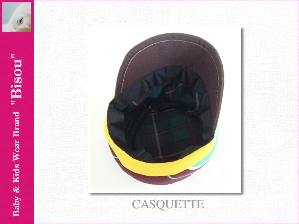 画像4: 【Bisou(ビズゥ)】CASQUETTE/ベビィ&キッズ用帽子
