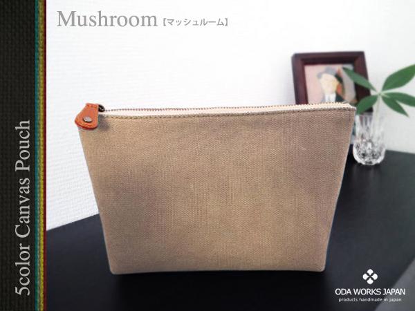 画像5: 倉敷帆布 5カラーポーチ/ODA WORKS JAPAN製